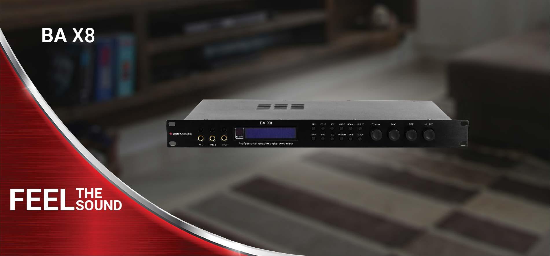 Professional Digital Karaoke Effects Processor