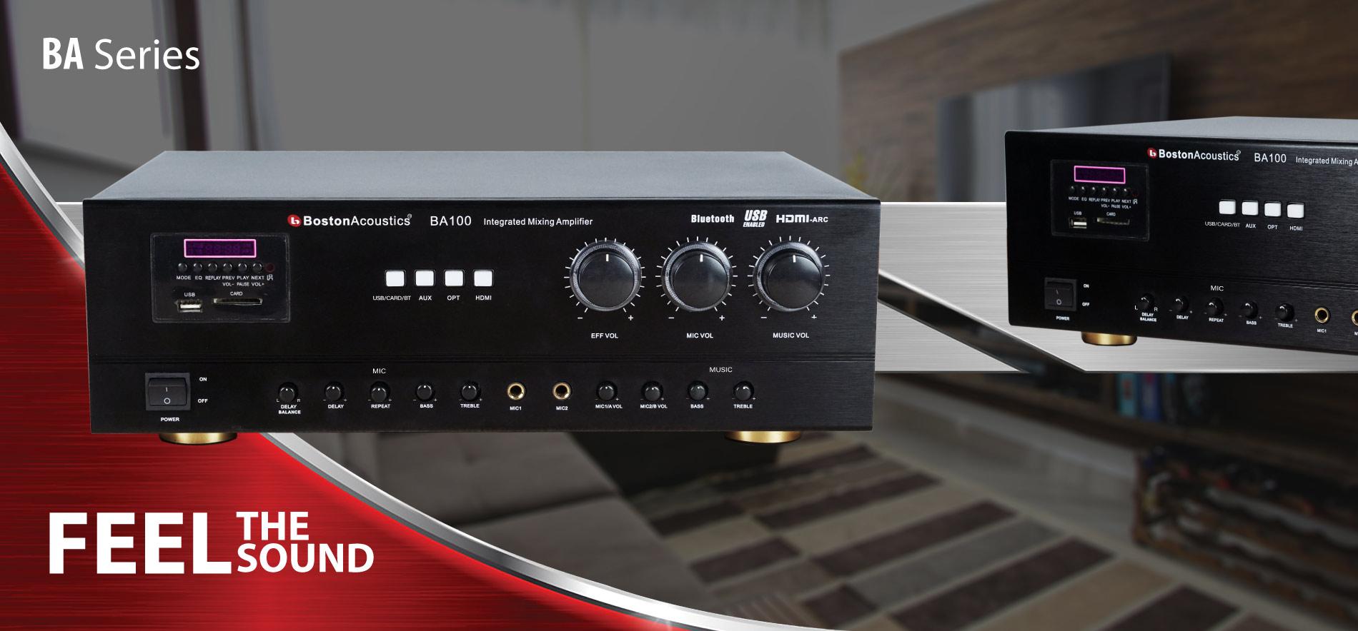 Boston Acoustics BA100 series